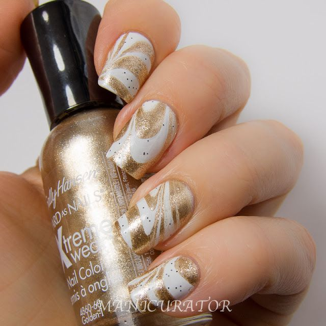 151 Best Marble Water Marble Nails Images On Pinterest
