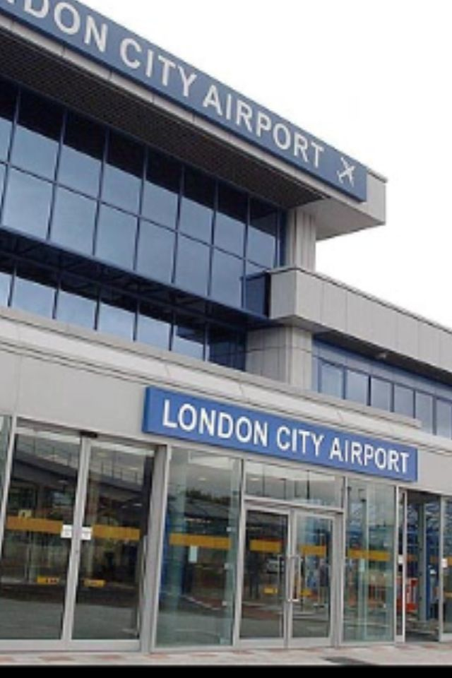 London City Airport (LCY) in London, Greater London