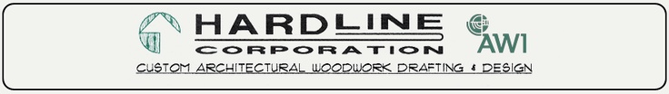 Hardline Corporation is an architectural woodwork design and engineering firm located in Interlochen, Michigan. We specialize in the preparation of cabinet and millwork shop drawings utilizing computer aided drafting software (AutoCAD). We prepare millwork shop drawings for any type of project containing architectural woodwork, millwork, casework, or fixtures    Hardline Corporation    2300 West Railroad Ave.  Interlochen, Michigan  49643    Phone: (231) 276-0170