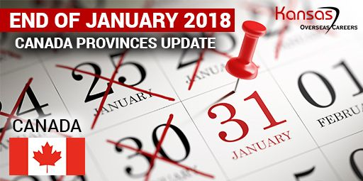 End Of January 2018 Canada Provinces Update With Images