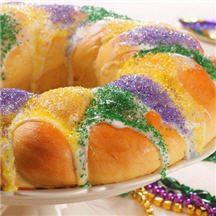 Mardi Gras Three Kings Cakes