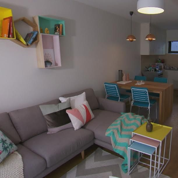 The Block Triple Threat Elimination Living/Dining Room - Jess&Ayden