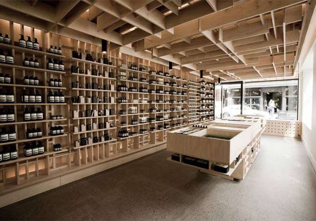 Interior Design Furniture Stores Melbourne ~ Aesop shop interior design pinterest melbourne