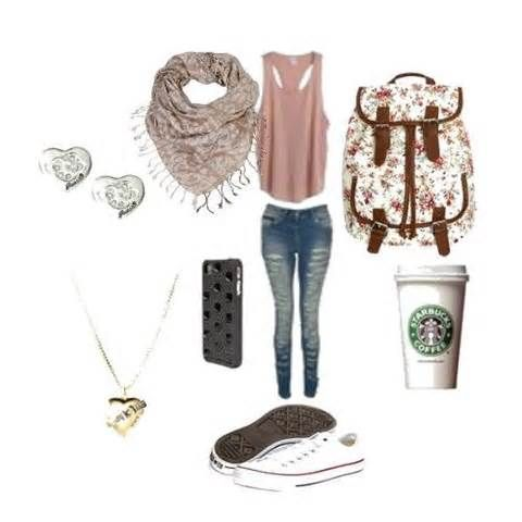 Back to school cute outfits for school 2014 | Cute High School Outfits | Pinterest
