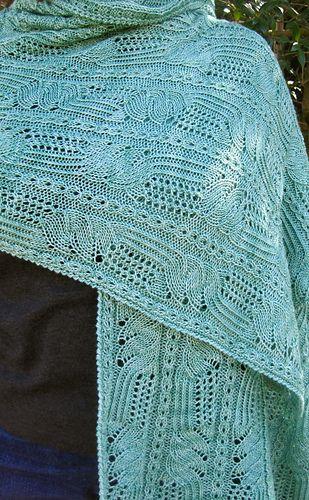 Ravelry: Matsuyama Lace Shawl pattern by Linda Lehman