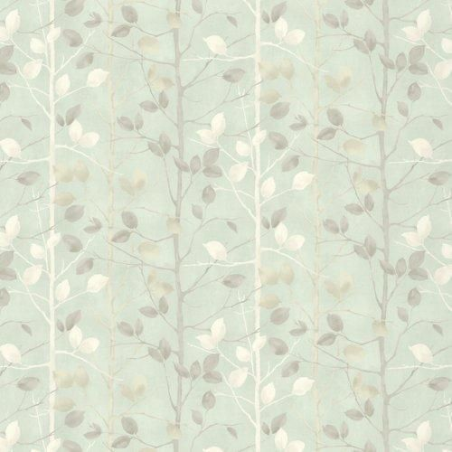ARTHOUSE VINTAGE LUXURY MATALLIC WOODLAND FOREST TREE LEAVES WALLPAPER ROLL SAGE | eBay!