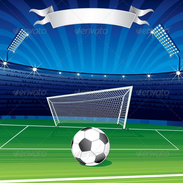 Soccer Background #GraphicRiver Football Champions League Theme. Poster for Your Text or Design - vector illustration, only simply linear and radial gradients used - no blends, gradient mesh used - vector available CMYK colors for print - pack include version AI, CDR, EPS, JPG Keywords: art, backdrop, competition, competitive, concept, crowd, design, event, field, football, illustration, image, league, net, people, poster, screen, spectator, symbol, vector Created: 28May12…