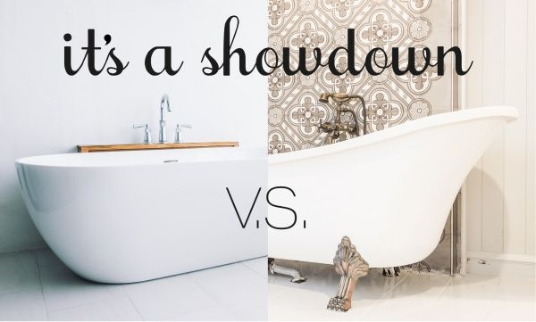 Soaking Tub Vs Clawfoot Tub The Home Features People Want Right