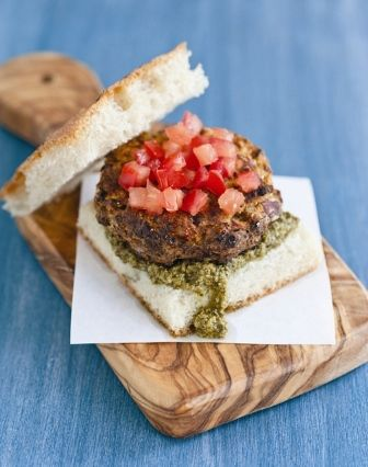 your Super Bowl Tailgating menu with my Herb Burgers and Seitan Flares ...