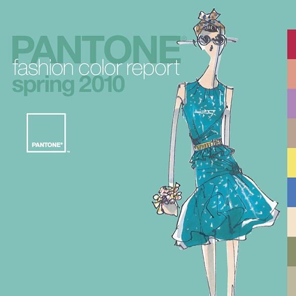 Pantone Says Turquoise is Color of the Year for 2010 | Rebekah Roy