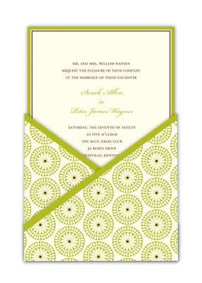 Green printable diy wedding invitations from michaels citrus wedding