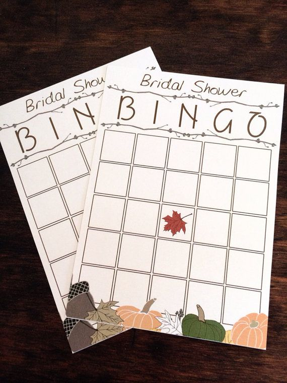 Hey, I found this really awesome Etsy listing at https://www.etsy.com/listing/161014461/fall-bridal-shower-bingo-game-cards