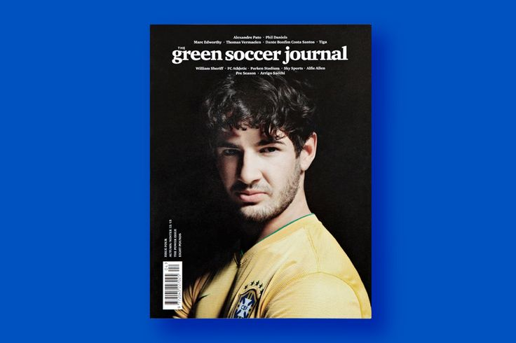 The Green Soccer Journal: The Power Issue No.4 — Collate: Sports Magazines, Soccer Journals, Men Gifts, Alexandre Pato, Journals Issues, Power Issues, Magazines Covers, Brasil Soccer, Green Soccer