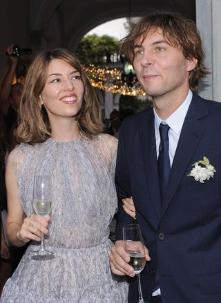 Sofia Coppola  & Thomas Mars' wedding.
