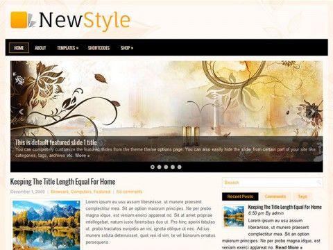 NewStyle WordPress theme