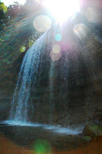 Bridal Veil Falls, Manitoulin Island