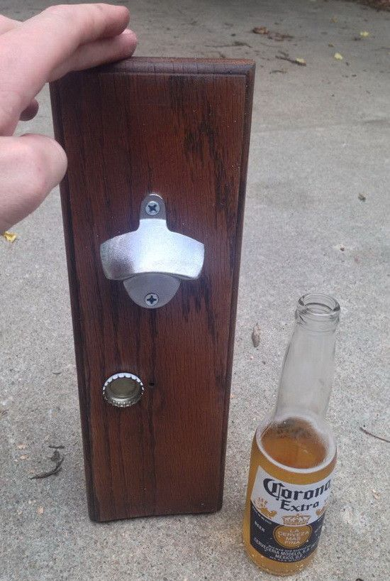 EASY DIY – BOTTLE OPENER MADE FROM WOOD & MAGNETS FOR DROP CATCH FUNCTION If you are looking for an easy one hour DIY project, this one is cheap and easy to build yourself. It is a new principal based upon an old one. A bottle opener mounted on a wooden board that has strong … … Continue reading →