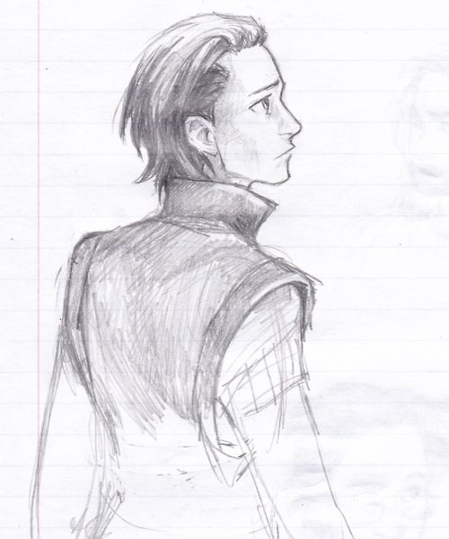 a young and troubled Loki by Burdge-Bug /// this is when I wish I could be his friend and help him become a good guy. :)