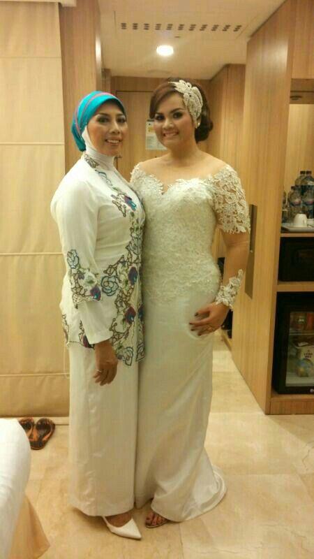 #Kebaya #gown for my #weddingdress on my #wedding day!
