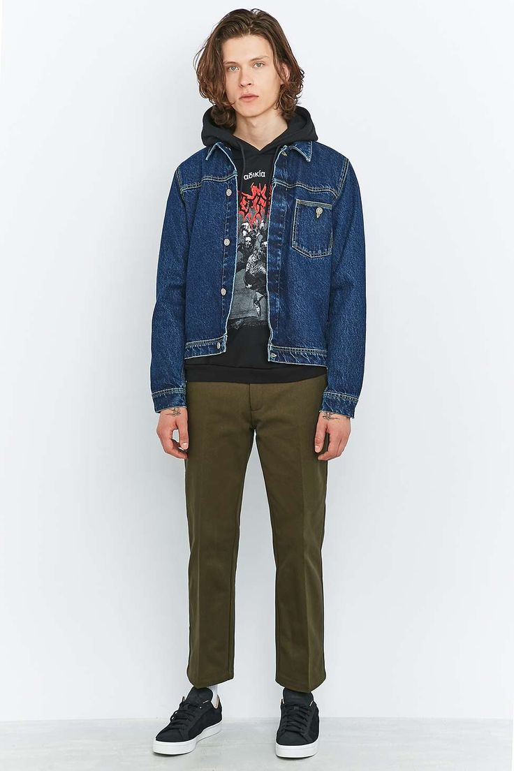 Shore Leave by Urban Outfitters Rory Khaki Skate Trousers