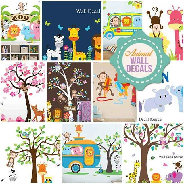 Best Nursery Wall Decals Images On Pinterest - Nursery wall decals animals