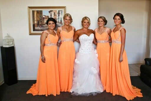 Beautiful girls bridal dress by Izzi Dress bridesmaids by Vogue Prom Dress