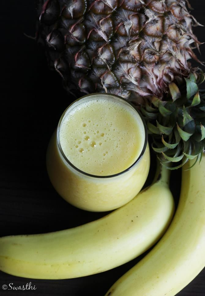 Pineapple smoothie is simple to make filled with all the goodness of nutrients…