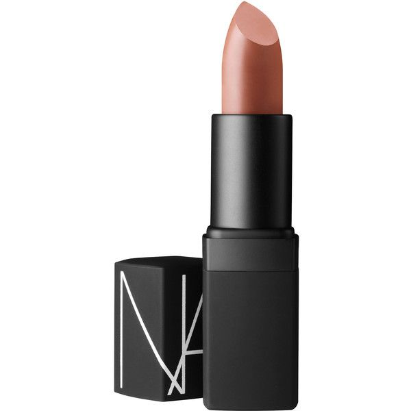 NARS Rosecliff Satin Lipstick - Rosecliff ($28) ❤ liked on Polyvore featuring beauty products, makeup, lip makeup, lipstick, lips, rosecliff, nars cosmetics and moisturizing lipstick