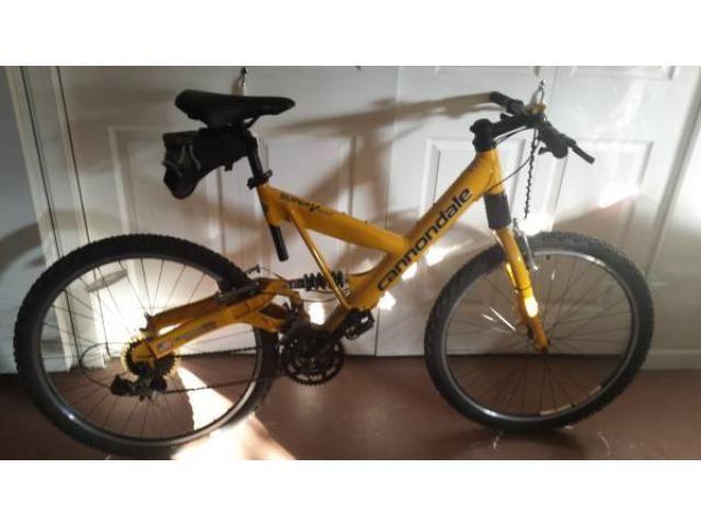 CANNONDALE Mountain Bike - $500 (new rochelle)