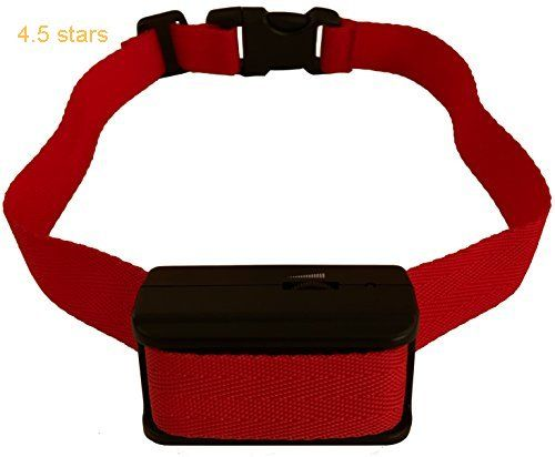 [Upgraded 2017 Version] Bark Collar w/Upgraded Chip. BEST Dog Shock / Vibration Anti-Barking Collar. No Bark Control w/5 Levels for Small / Medium / Large Dogs (2017-upgraded)