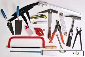 Outils de couvreur lot 31 pces apprentis compagnon outillage toiture
