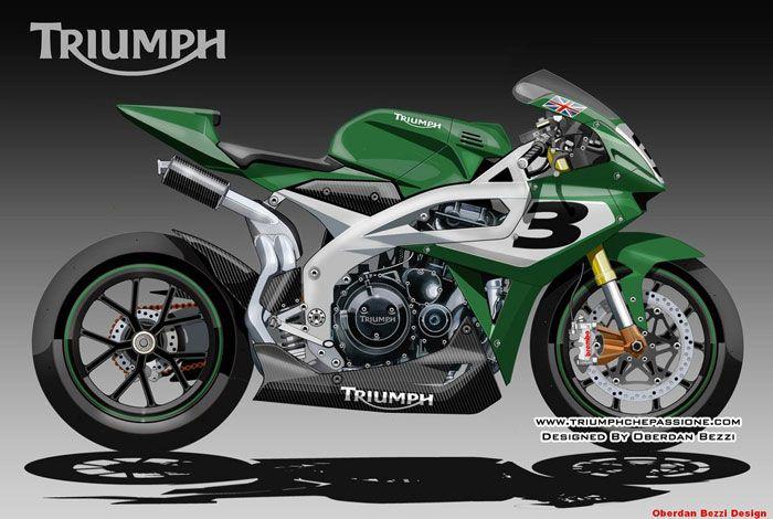 """Prototipi e Studi di Design, la Triumph """"SUPERBIKE NEXT"""""""