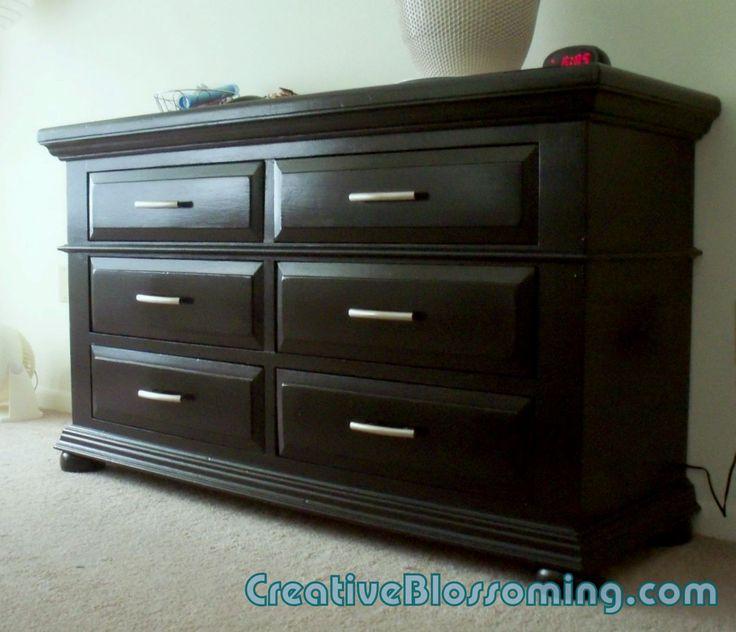 Painting Bedroom Furniture Black best 25+ black painted dressers ideas on pinterest | black dresser
