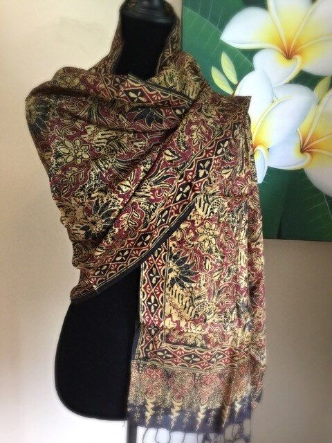 A personal favorite from my Etsy shop https://www.etsy.com/listing/457335234/batik-scarveshawl