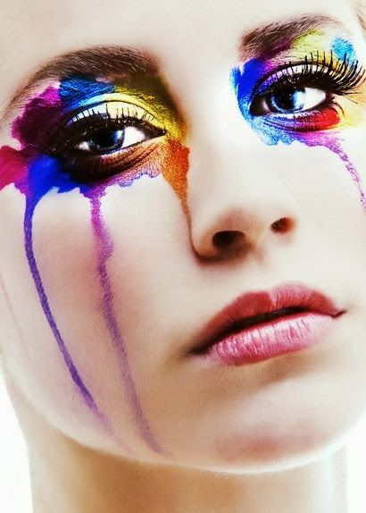 Maquiagem Fantasia.