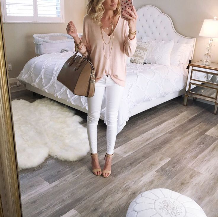 Top: Free People also love this , Jeans: Ag similar here , Heels: Ivanka Trump also love these and these , Bag Louise Vuitton ne...