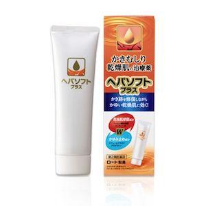 ROHTO Hepasoft Plus — крем против зуда и сухости • Для тела • MelonPanda Beauty Shop - интернет магазин японской косметики