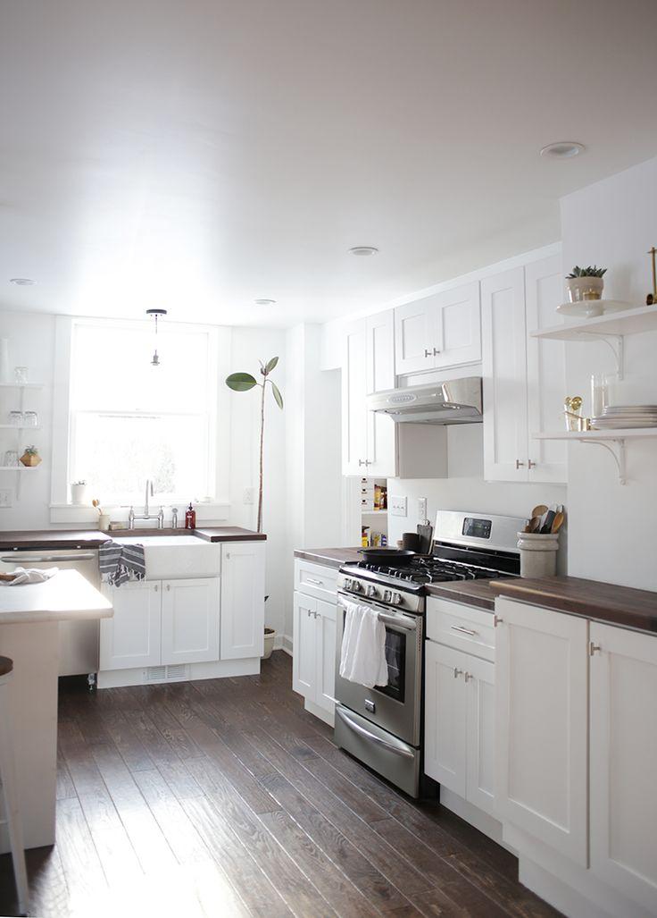 Minimal Kitchen @themerrythought