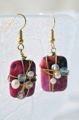 AnKa pysslar med pärlor och tyg: Mera färg