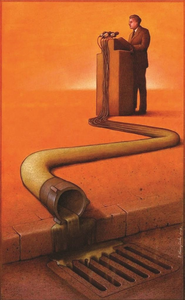 14 Brilliant And Satirical Drawings That Question The World We Live In (By Pawel Kuczynski)_10