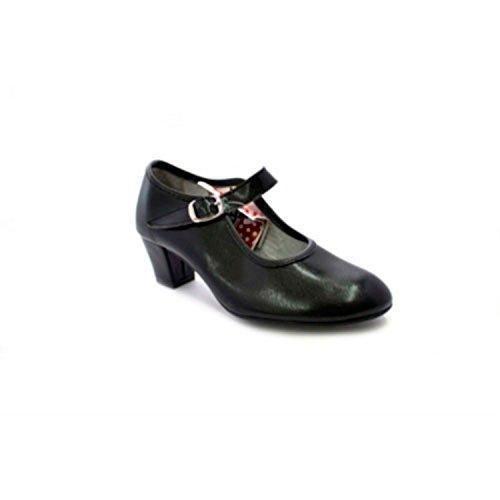 Oferta: 22.9€. Comprar Ofertas de Zapato baile de tacón para niña y señora Carolina Guillo en negro talla 41 barato. ¡Mira las ofertas!