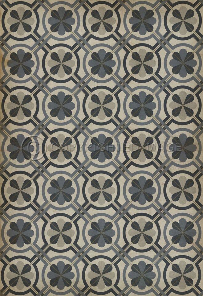 Pura Vida Home Decor   Pattern 19 Madame Curie Vinyl Floor Cloth, $49.00  (http