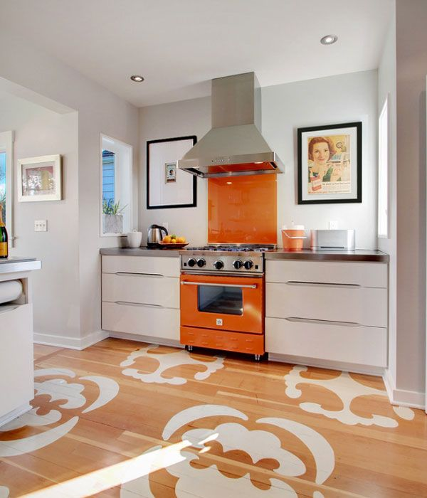 Orange Kitchen Accents: Get the Look