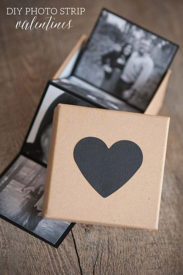 DIY Photo Strip Valentines via The Sweetest Occasion - Photos by Alice G Patterson Photography