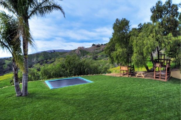 TRAMPOLINE WITH A VIEW - House Rental in Santa Barbara, California, USA a mediterranean retreat with infinity views.