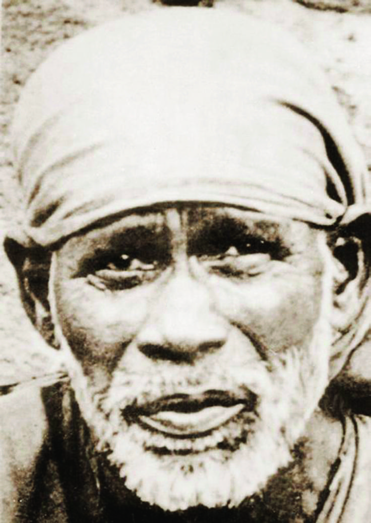 """""""Let us love and serve each other and be happy."""" -Shirdi Sai Baba, Sri Sai Satcharitra"""