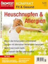 ÖKO-TEST KOMPAKT Fit & Gesund – Heuschnupfen & Allergien