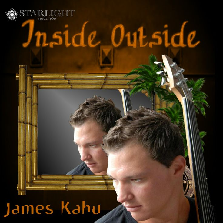 "Cover art for James Kahu's debut single ""Inside Outside"" from his new upcoming EP"