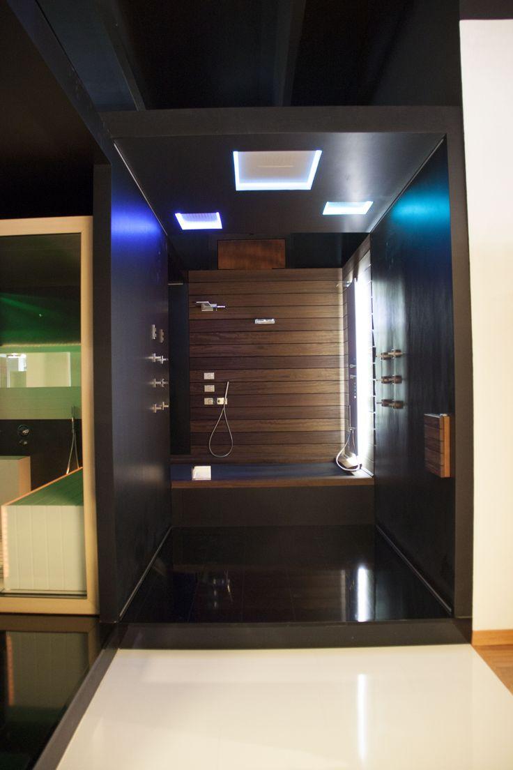 StipSPA3 #stipbagni #roevolciano #trento #salò #spa #wellness #showroom #bathroom #design #relax #nature #antoniolupi
