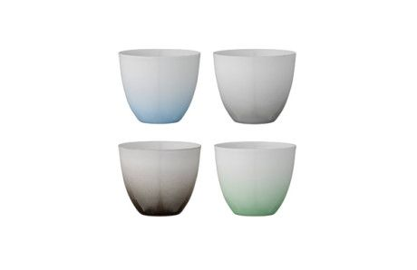 Trouva - Nice ombre candle holders. Perfect for my bedroom colours #TrouvaHandpinnedHomewares